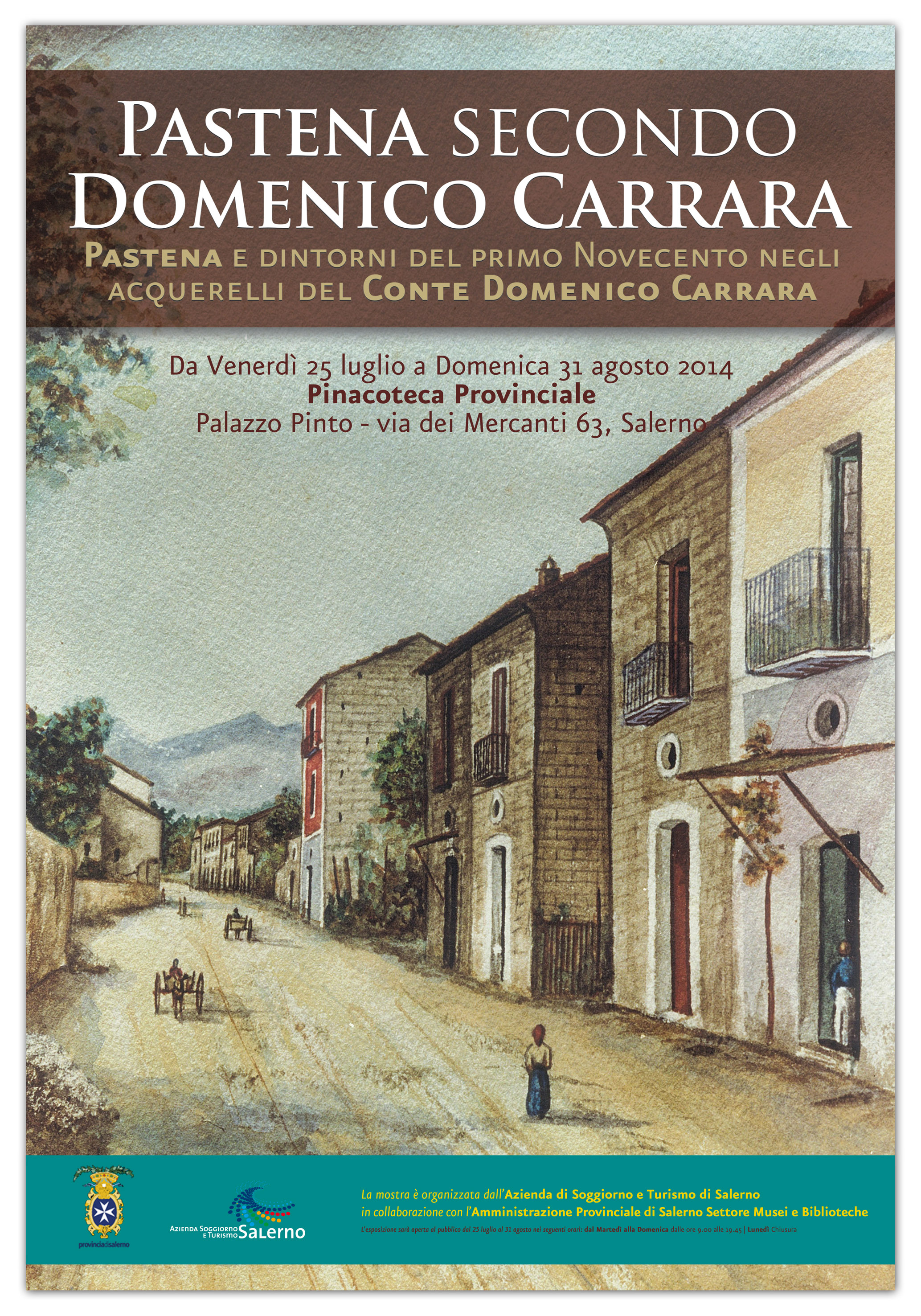 locandina acquerelli CARRARA