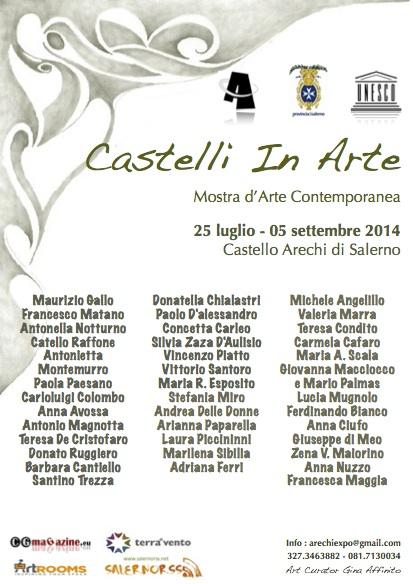 Locandina Castelli in arte