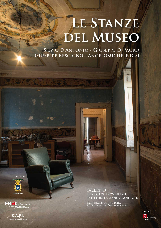 locandina LE STANZE DEL MUSEO