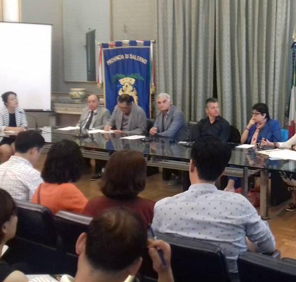 delegazione sudcoreana