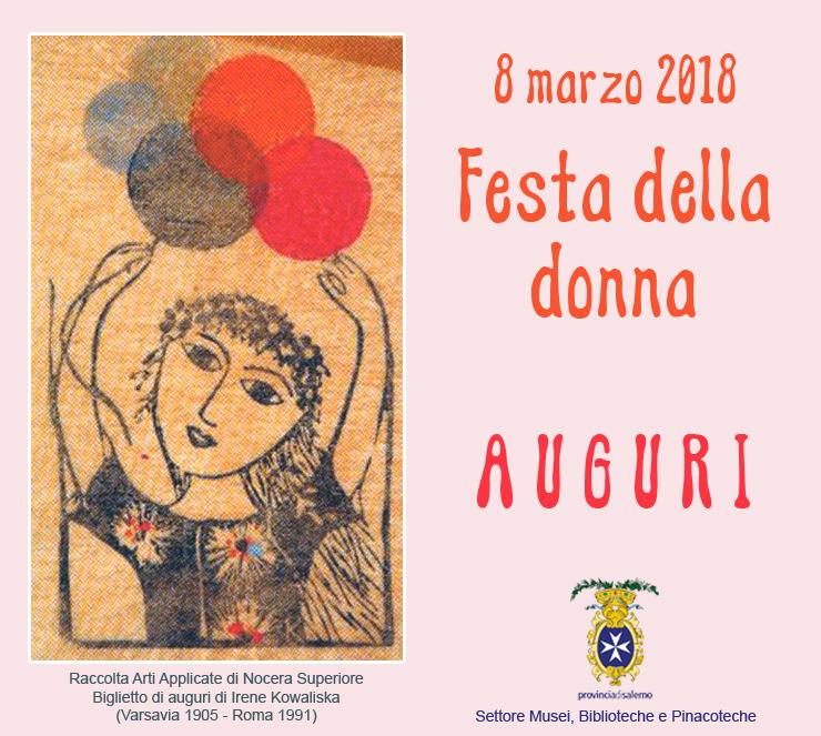 festa della donna 2018