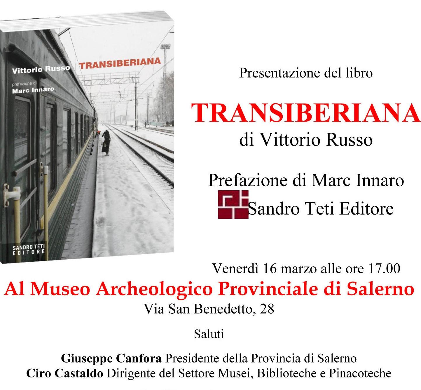 presentazione libro Transiberiana