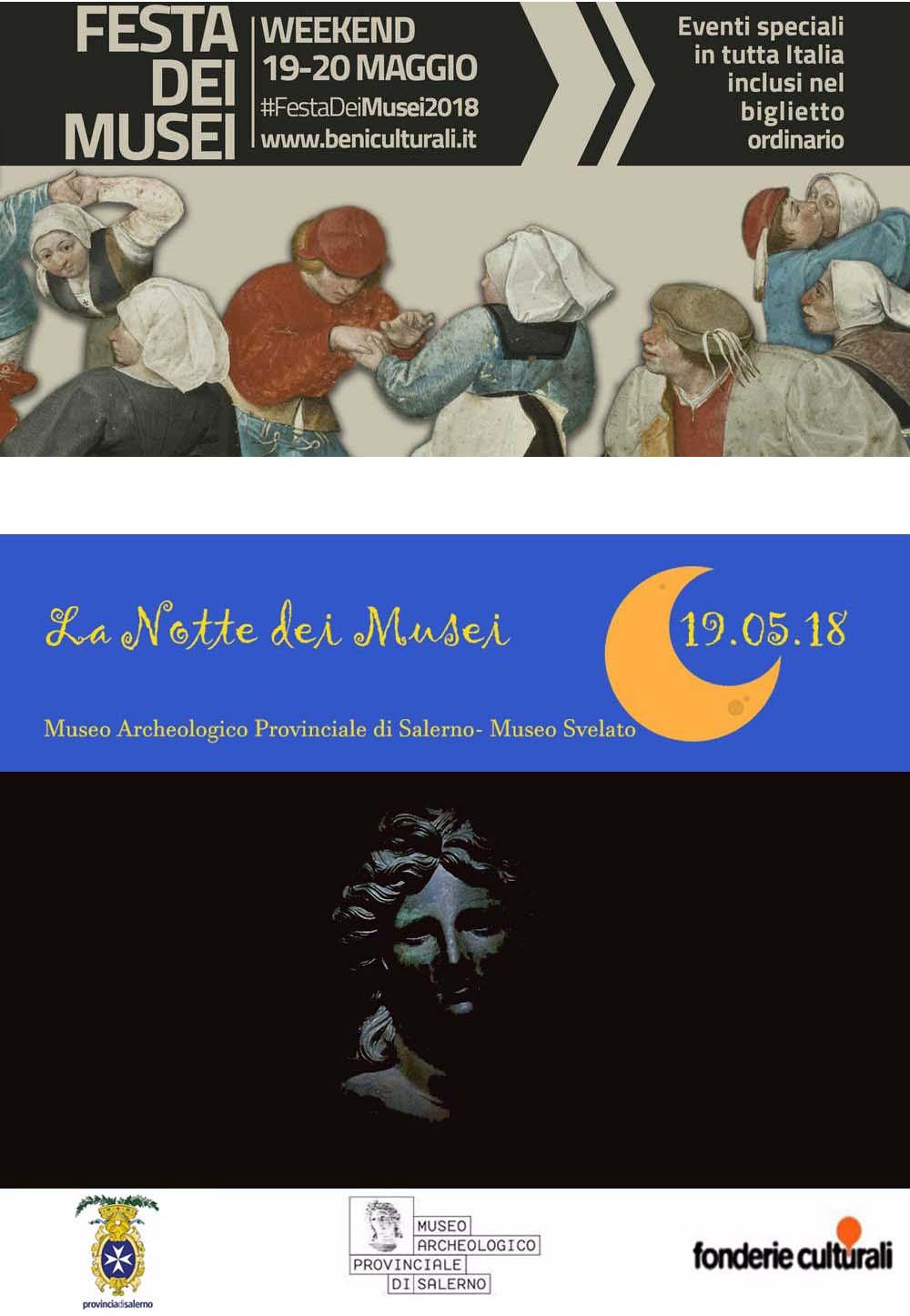 locandina notte dei musei e festa dei musei