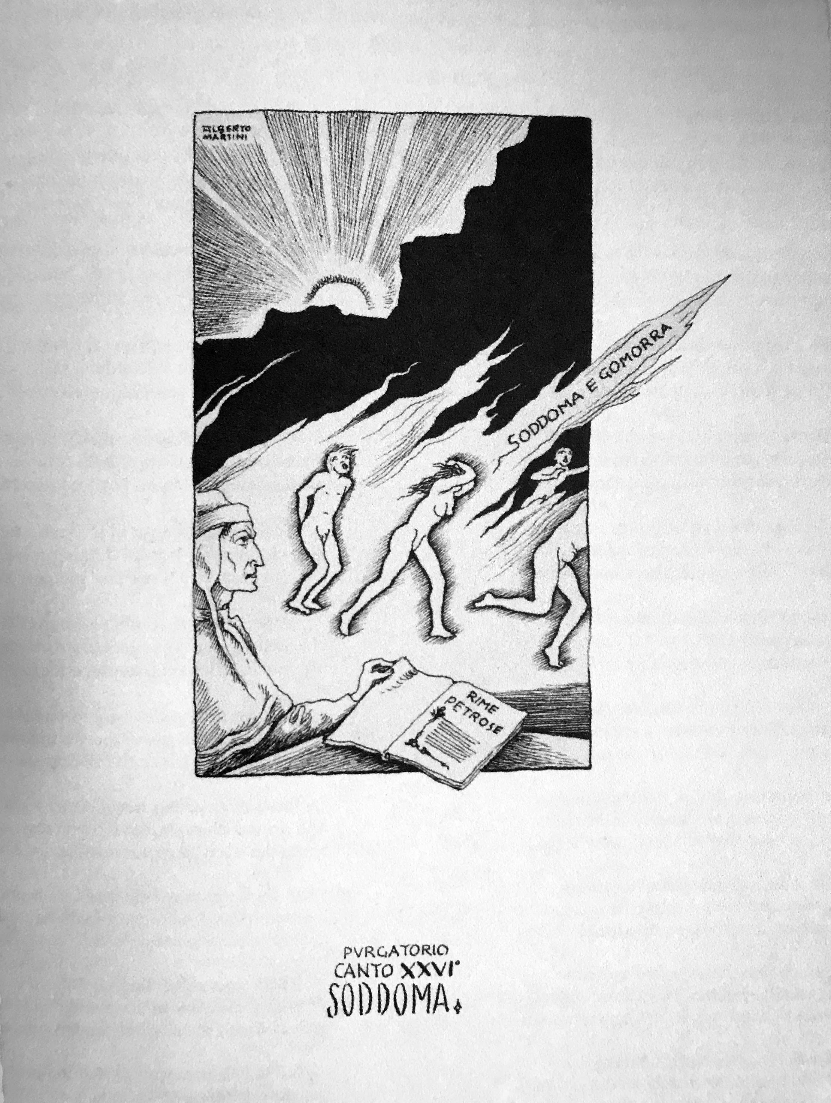 canto XXVI purgatorio