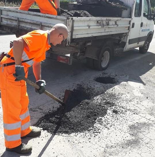 lavori buche strade