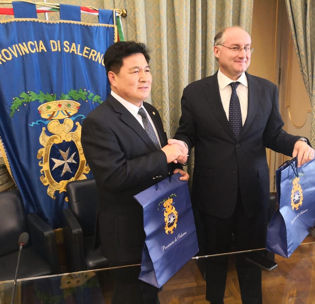 delegazione coreana