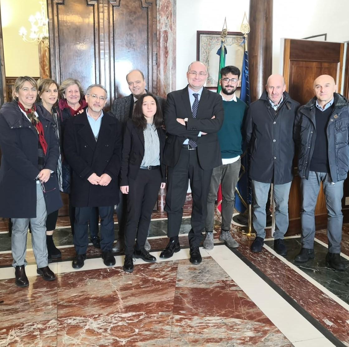 delegazione liceo Parmenide di vallo