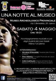 Una Notte al Museo Archeologico Provinciale di Sa