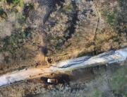 foto drone SP 26 San Cipriano Picentino