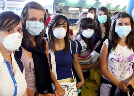 studenticon mascherina