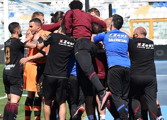 Salernitana in serie A
